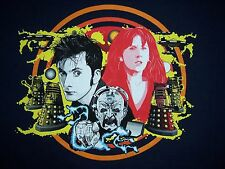 DOCTOR WHO Tardis 10th Time Lord Davros Donna Noble Daleks Mens T-Shirt (M-2XL)