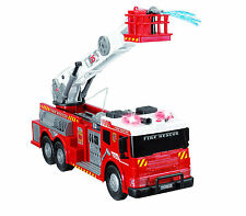 Fire Brigade Vehicle Truck Large Kids Toy Lights Sound Sirens Real Water Pump