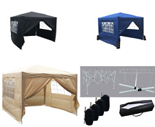 Gazebo Outdoor Pop Up 3m x 3m Party Garden Marquee Patio Tent Canopy Easy Awning