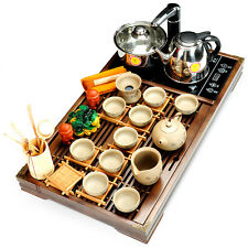 Tea set yixing zisha pot cup gaiwan tea ceremony tea-furnace Induction cooker