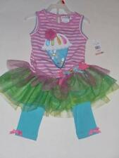 Emily Rose Boutique Ice Cream Cone Birthday Outfit Tutu Tulle Size 4  6  NEW