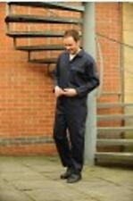 Navy Cotton Flame/Fire Retardant/Resistant Welders Boilersuit Overalls Coverall