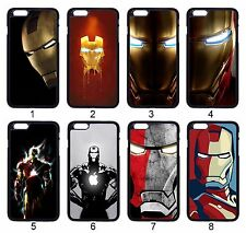 Custom Iron Man Avengers For Apple iPhone iPod & Samsung Galaxy Hard Case Cover