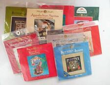 CHOOSE From 10 Sealed Mill Hill Counted Cross Stitch Kits Christmas Halloween
