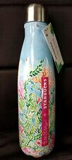 Lilly Pulitzer Starbucks S'well Bottle NWT Mermaid limited ed sirens calling