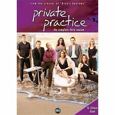Private Practice: The Complete Third Season (DVD, 2010, 5-Disc Set) NEW&