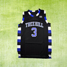 Lucas Scott 3# One Tree Hill Ravens Basketball Jersey Men's All Size