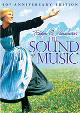 The Sound of Music DVD 2-Disc Set, 40th Anniversary Edition Sealed Julie Andrews