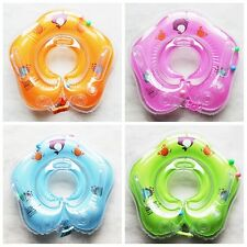 1Pc Newborn Baby Swimming Neck Float Infant Adjustable Bath Ring Safety Aids