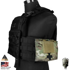 TMC 9022B Medical Blowout Kit Molle Pouch Tool Tactical Hunting Medic Camo Bag