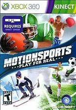 MotionSports Play for Real - Xbox 360 Kinect - Complete w/Manual