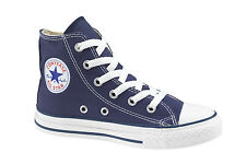 New Converse Chuck All Star Taylor High Top Navy kids/youth sneakers