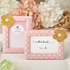 Pink and Gold photo frame /  placecard frame from PartyFairyBox / FC-8391