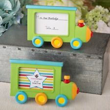 Little Locomotive engine photo frame / placecard holder from PartyFairyBox