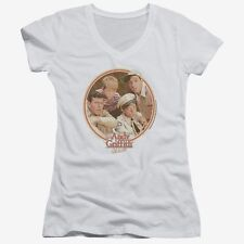 """The Andy Griffith Show """"Boy's Club"""" Girl's Junior V-Neck Tee"""