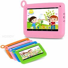 """7.0"""" Android 4.4 Kids Tablet PC Quad Core 1.3GHz 512MB+8GB WiFi Bluetooth Child"""