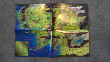 Middle Earth CCG - OFFICIAL LARGE SIZE REGION MAP - MECCG Cards