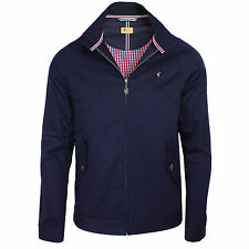 GABICCI VINTAGE HAMILTON MENS NAVY HARRINGTON JACKET