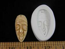 Mask Clown Tribal Owl Asian Polymer Clay Mold