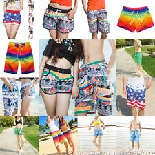 Lovers Men Women Summer Shorts Couple Casual Beach Swim Short Pants L-XXL