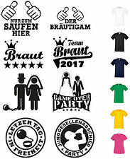 Jga T Shirt young apprentices-abschied wedding Party Bride Groom Shirts T-Shirt
