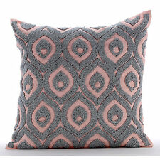 Passion Palace - Pink Cotton Linen 35x35 cm Throw Cushion Covers