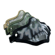 Strike Metal Mesh Mask Protective Mask Half Face Tactical Airsoft Military ab