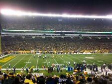 PITTSBURGH STEELERS VS NEW ENGLAND PATRIOTS TIX - SECTION 112 ROW X - $800 EACH