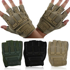 A Pair Of Cycling Gloves Men Outdoor Sport Cycling Gloves Half Finger Gloves SM