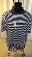 New Men's Ancona Golf Shirt Made In Italy Double Mercerized Egyptian Cotton