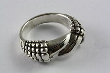 SOLID DRAGON CLAWS BIKER RING 925 SILBER SILVER RING / 040