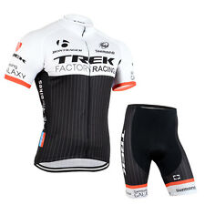 Fashion Mens Bike Bicycle Outdoor Sports Wear Cycling Jersey With Padded Shorts