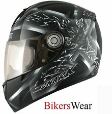 Shark RSI Thetys Black / Silver Motorcycle/Bike Helmet Size XS or XL RRP:£300
