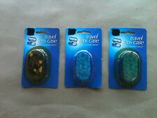 Contact Lens Travel Case W/Mirror New