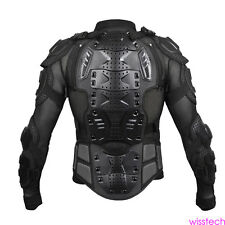 Motorcycle Full Body Armor Jacket Spine Chest Protection Gear S - XXXL