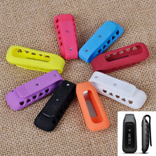 Colorful Replacement Silicone Clip Belt Holder Case Cover Skin for Fitbit One