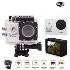 WIFI Wreless Waterproof Sports DV 1080P HD Video Action Camera Camcorder New