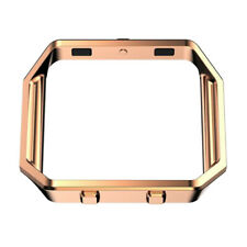 For Fitbit Blaze Accessory Frame Metal Stainless Steel Housing Case Cover