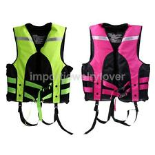 Adult Kids Life Vest / Jackets Safety Survival Suit Fishing Swiming Bouyancy Aid