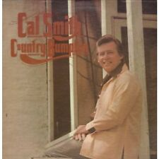 CAL SMITH Country Bumbkin LP VINYL US Mca 1974 11 Track Small Deletion Cut In
