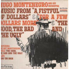 HUGO MONTENEGRO Music From A Fistful Of Dollars Etc LP VINYL UK Rca 15 Track
