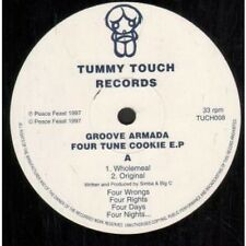"GROOVE ARMADA Fortune Cookie EP 12"" VINYL Tummy Touch 1997 4 Track Featuring"