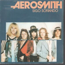 "AEROSMITH Dream On 7"" VINYL Spanish Cbs 1976 B/W Somebody (Cbs4000) Pic Sleeve"