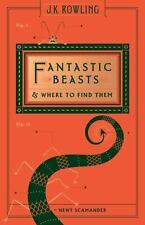Fantastic Beasts and Where to Find Them by J. K. Rowling Printing Error Edition