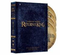 The Lord of the Rings: The Return of the King (Extended Edition)  DVD Elijah Woo