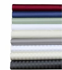 Brielle Egyptian Cotton Sateen Sheet Set, 400 Thread Count NEW