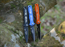 Outdoor Wilderness Survival Camping Hunting Saber Blade Defensive Tactical Knife
