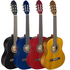 """STAGG C440 39"""" Full Size Student Classical Nylon Acoustic Guitar 4 COLORS"""