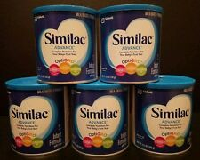 5 x 12.4 oz Similac Advance OptiGRO Infant Formula, Milk-Based Powder, with Iron