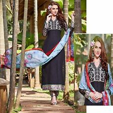 BOLLYWOOD ANARKALI SALWAR KAMEEZ DESIGNER PAKISTANI INDIAN SALWAR SUIT DRESS